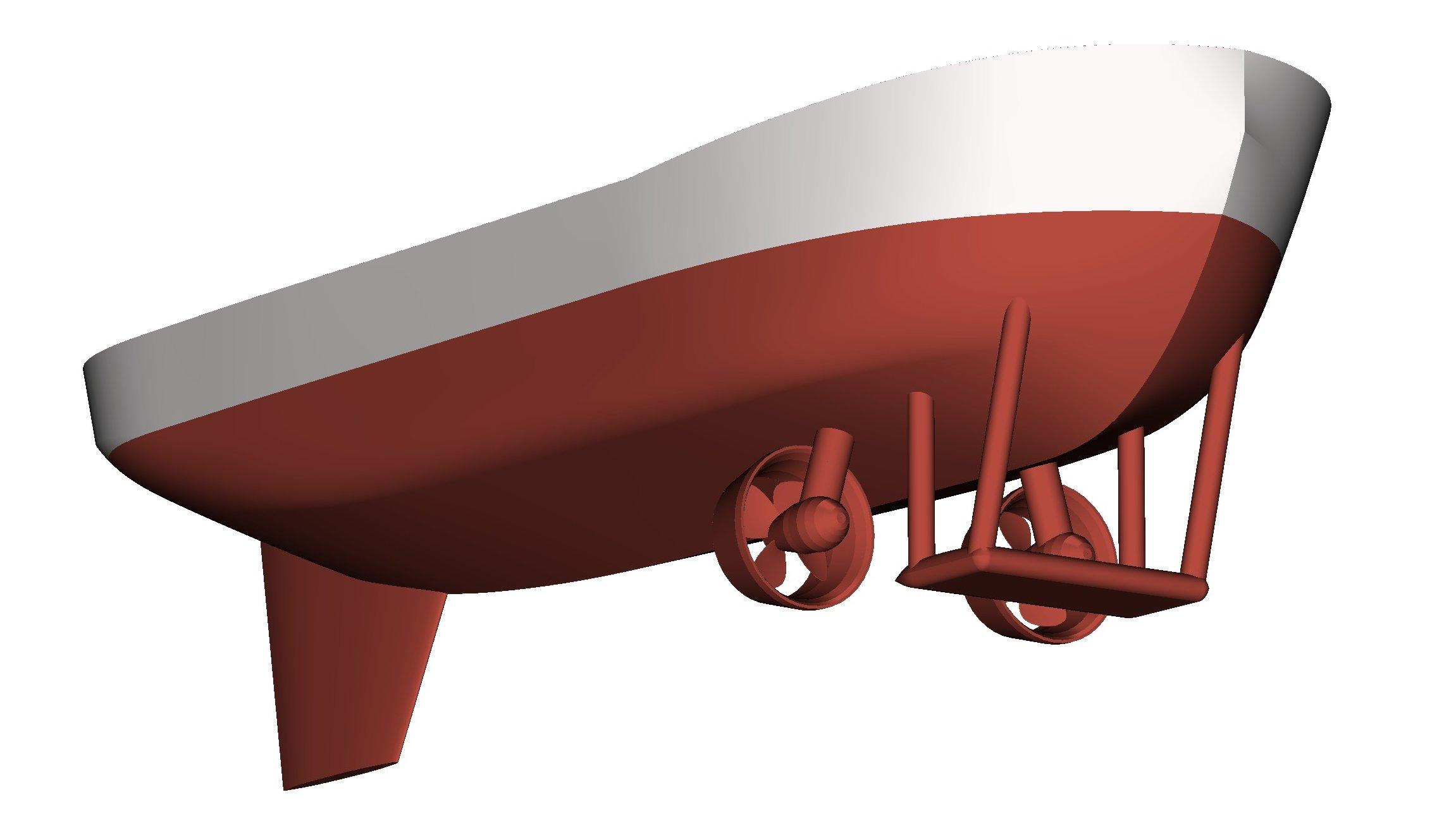 Cargo ship Mer & Design